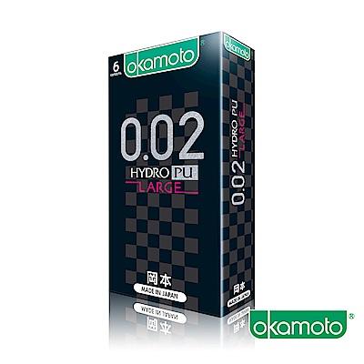 岡本okamoto 0.02-L 水感勁薄(6片/盒)
