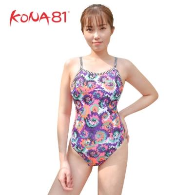 酷吶81 Dolfin女性波西米亞造型連身泳裝 花朵圖騰