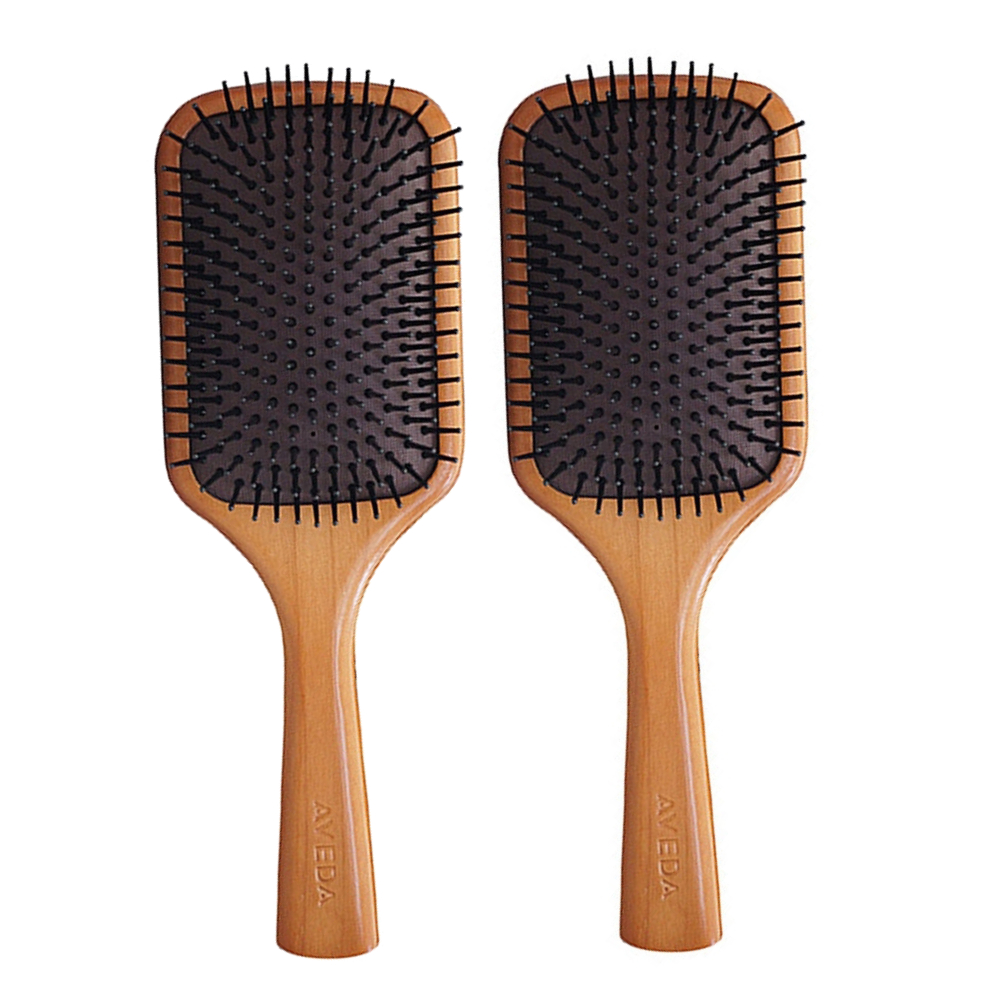 AVEDA 木質髮梳2入
