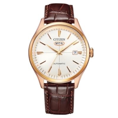 CITIZEN 星辰Mechanical經典C7系列機械腕錶NH8393-05A