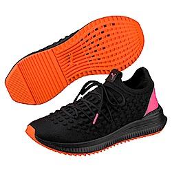 PUMA-AVID Fusefit 男女復古慢跑運動鞋-黑色