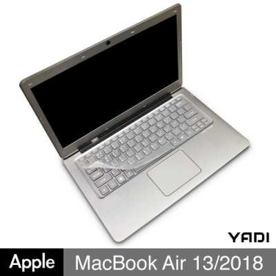 YADI Apple Macbook Air 13/2018/A1932 專用鍵盤保護膜