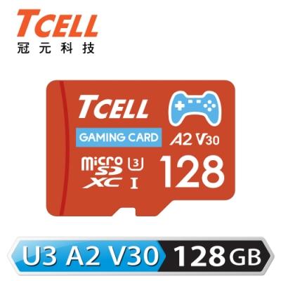 TCELL冠元 MicroSDXC UHS-I (A2)U3 128GB