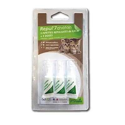 法國皮樂 Pilou 幼貓用 天然除蚤驅蝨防蚊滴劑