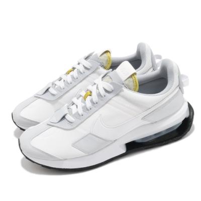 Nike 休閒鞋 Air Max Pre Day 運動 男女鞋 氣墊 舒適 避震 簡約 情侶穿搭 球鞋 白 灰 DA4263100