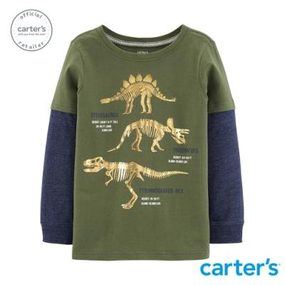 Carter s台灣總代理 恐龍時代長袖上衣