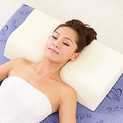 1/3 A LIFE 鑫妮 科技涼感模塑抗菌護頸記憶枕-1入