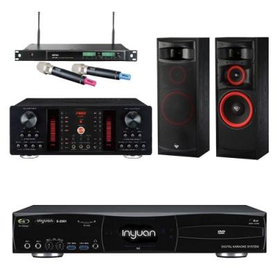 音圓N2+FNSD A-450+XLS-12+ACT-589(伴唱機 4TB+卡拉OK套組)