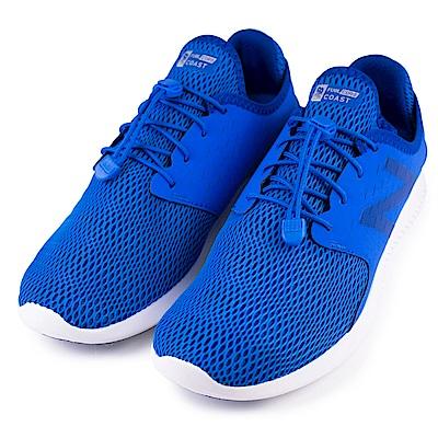 NEW BALANCE-男慢跑鞋MCOASBL3-2E-藍