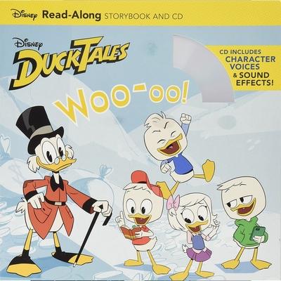 DuckTales WOO-OO! Read-Along Storybook And CD 唐老鴨有聲讀本(一平裝繪本+一CD)