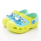 POLI童鞋 波力電燈園丁鞋款 NI1035藍綠(中小童段)