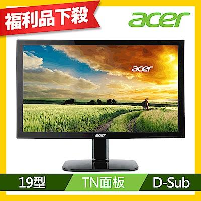 acer KA190HQ 19型 護眼電腦螢幕(福利品)