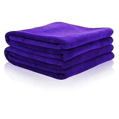【車的背包】強力吸水車用擦拭巾(30x30cm 6入組)紫色