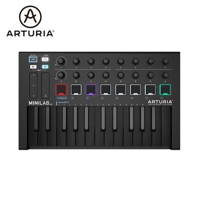 Arturia MiniLab MK2 25鍵 Deep Black 主控鍵盤 全黑限量版