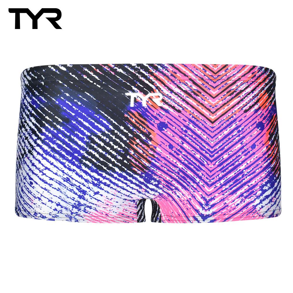 美國TYR 男用四角泳褲 混色 Tyrone content