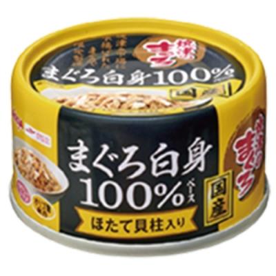 Aixia 愛喜雅-愛喜雅燒津純鮪3號罐頭 干貝口味(70gX24罐))