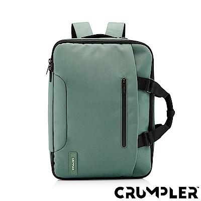 Crumpler 小野人 CREDENTIAL 三用變形公事包(M) 森林綠