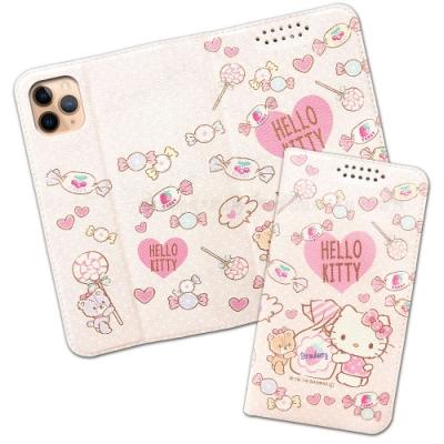 三麗鷗授權 iPhone 11 Pro Max 6.5吋 粉嫩系列彩繪磁力皮套(軟糖)