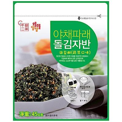 韓味不二 天命海苔酥-蔬菜(45g)