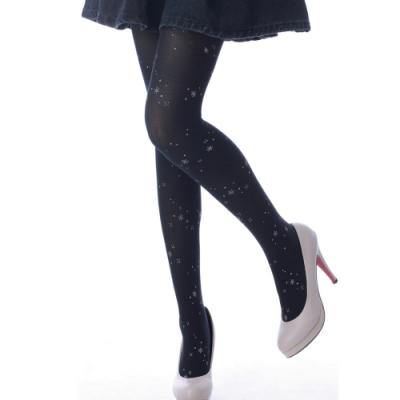 蒂巴蕾 BLING WARM UP 80D褲襪-流星 黑色