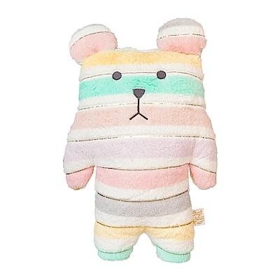 CRAFTHOLIC 宇宙人 花俏緞帶熊寶貝枕