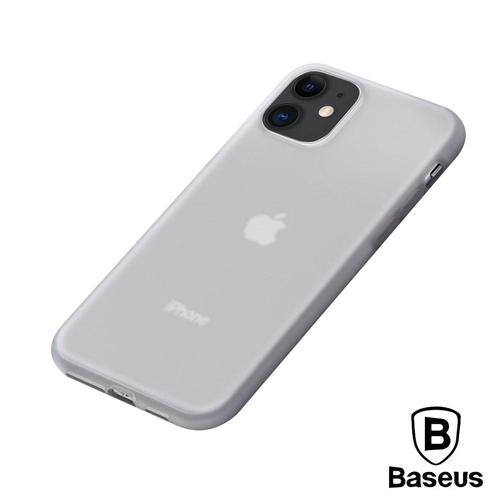 倍思 iPhone11 液態矽膠防刮抗油污軟殼保護套