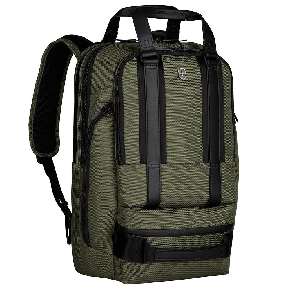 VICTORINOX 瑞士維氏LEXICON 15吋 電腦後背包-橄欖綠