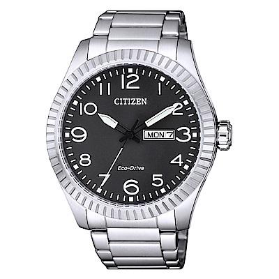 CITIZEN 星辰光動能簡約時尚手錶(BM8530-89E)-黑/42mm @ Y!購物