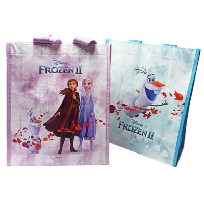 迪士尼 Frozen 冰雪奇緣 提袋 禮物袋 不織布手提袋