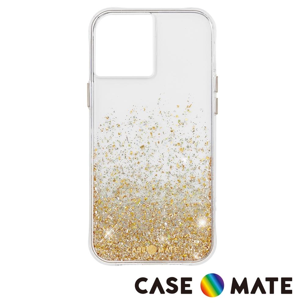 美國 Case-Mate iPhone 12 mini Twinkle Ombré 金色暮光防摔抗菌手機保護殼