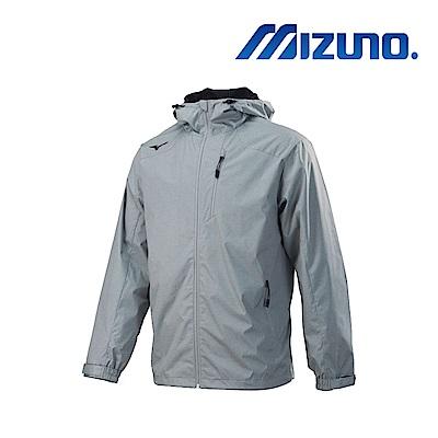 Mizuno 美津濃 男夾克 淺灰 32TE859503