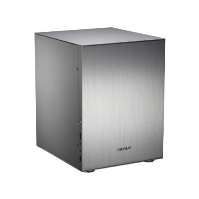 JONSBO 喬思伯 C2S Micro ATX電腦機殼《銀》