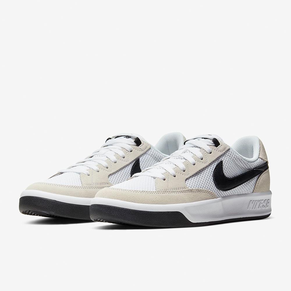 NIKE 休閒鞋 滑板鞋 男鞋 白黑 CJ0887100 SB Adversary