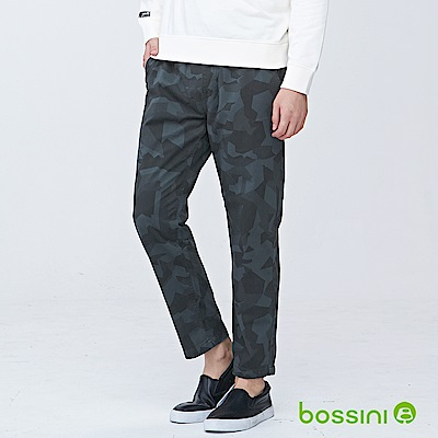 bossini男裝-潮流及踝褲04軍綠
