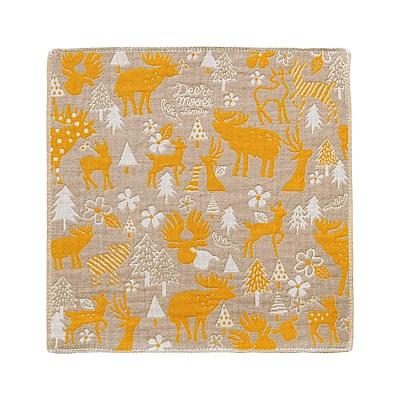 日本Prairiedog 今治三層紗方巾-麋鹿剪影
