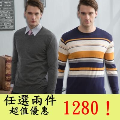【時時樂限定】Valentino Rudy范倫鐵諾.路迪 秋冬毛衣POLO衫 兩件限時優惠$1280