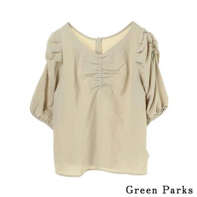 Green Parks  2way特色花苞袖設計上衣