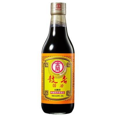 金蘭 鼓舌醬油(590ml)