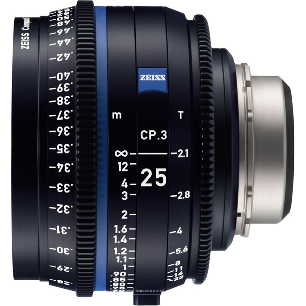 蔡司 Zeiss CP.3 25mm T2.1 Feet 電影定焦鏡頭 公司貨