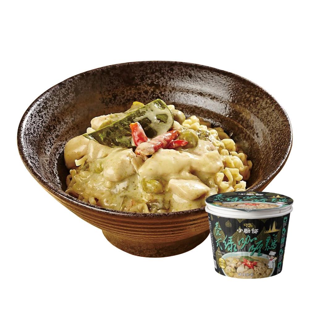 小廚師 泰式綠咖哩雞慢食麵(200g)
