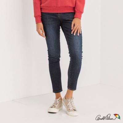 Arnold Palmer -女裝-有機棉合身牛仔褲-深藍色