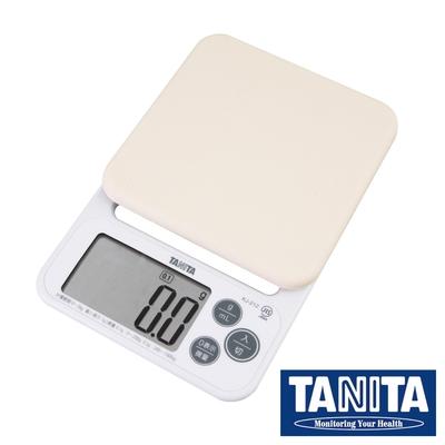 【TANITA】廚房矽膠微量電子料理秤&電子秤-2kg/0.1g-新款-白色(KJ-212-WH)