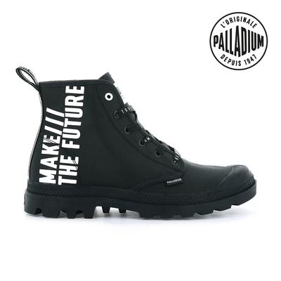 PALLADIUM PAMPA HI FUTURE未來標語軍靴-中性-黑