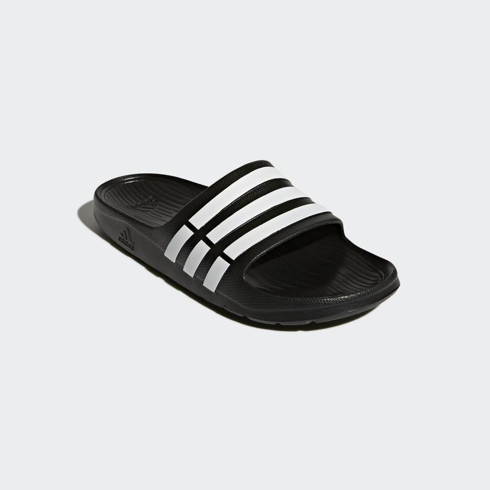 ADIDAS DURAMO SLIDE 男女 拖鞋 黑-G15890