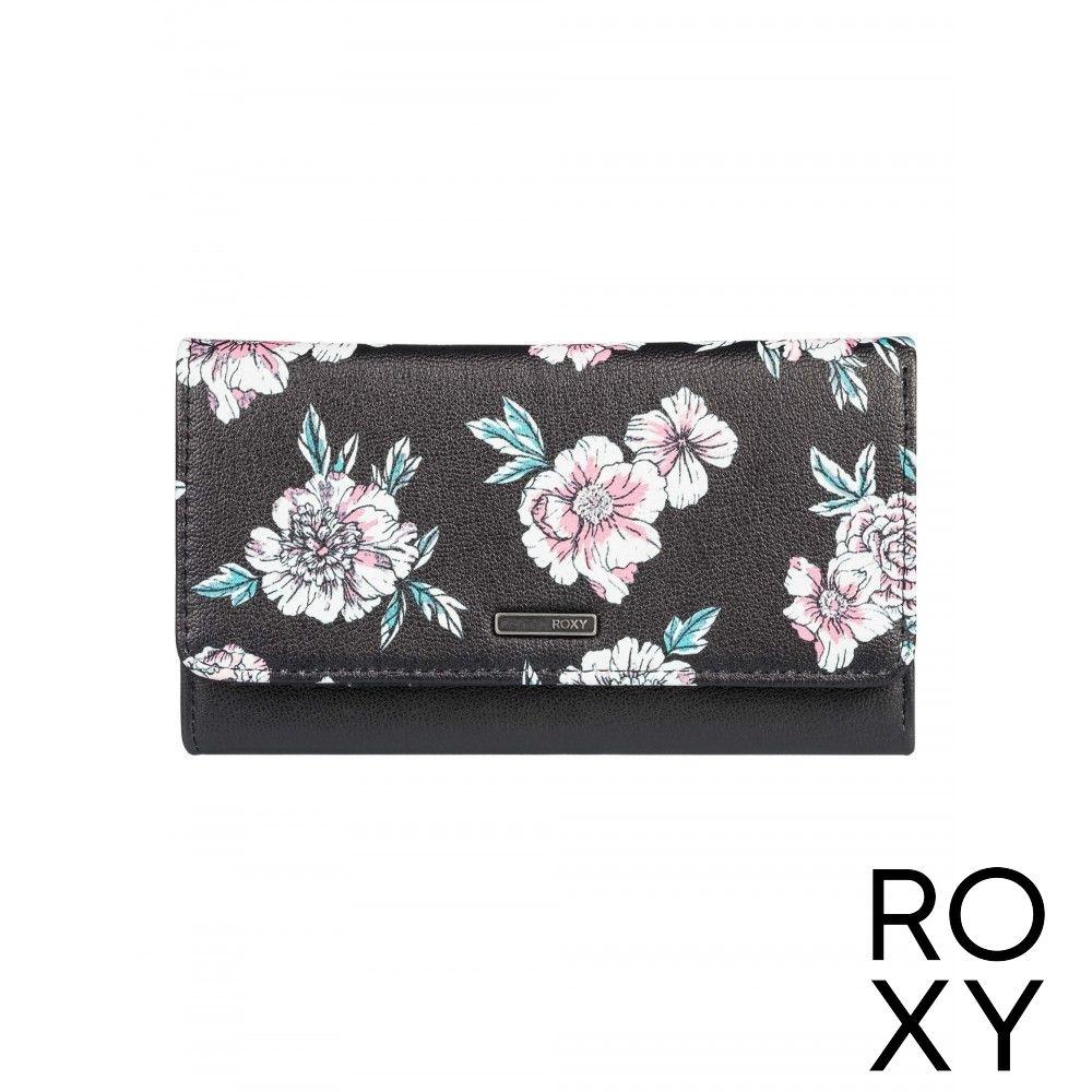 【ROXY】HAZY DAZE 3 皮夾 黑