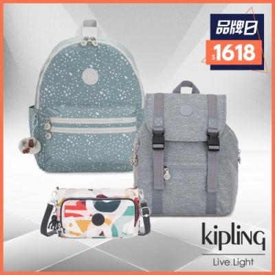 [超品日限定] Kipling 浪漫夏日造型包(多款任選)/原價4530