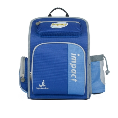 【IMPACT】怡寶標準型護脊書包-小天使系列-藍 IM0050ARB