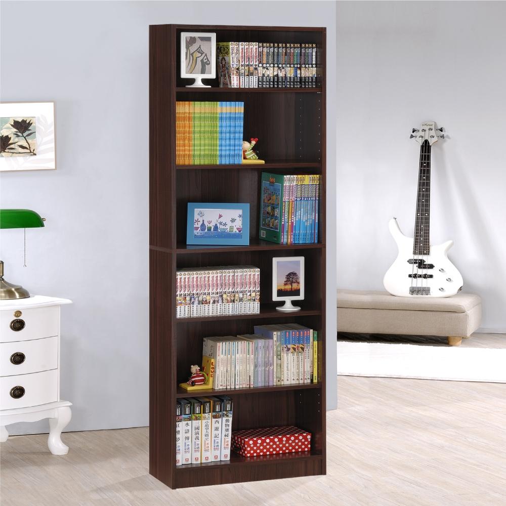 《HOPMA》DIY巧收高六格書櫃/收納櫃-寬57.5 x深23.8 x高175.4cm