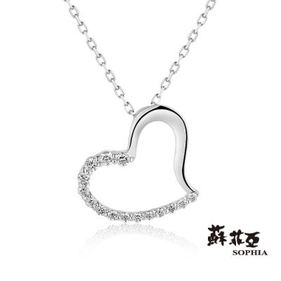 蘇菲亞 SOPHIA - TERESA戴瑞莎 0.20克拉鑽石項鍊
