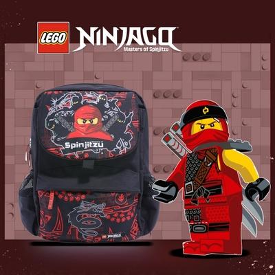 LEGO丹麥樂高書包Starter-紅忍者與龍 20022-1809
